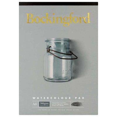 Bockingford A4 Watercolour Pad 300 GSM10-Leaf