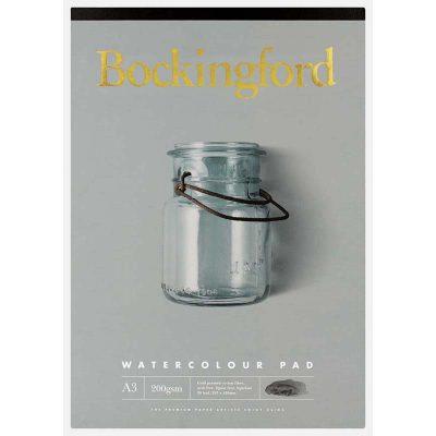Bockingford A3 Watercolour Pad 200 GSM 20-Leaf