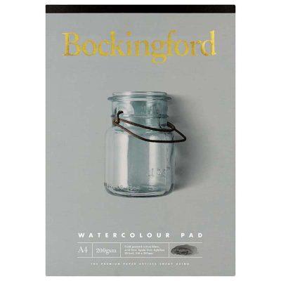 Bockingford A4 Watercolour Pad 20 Leaf 200gsm