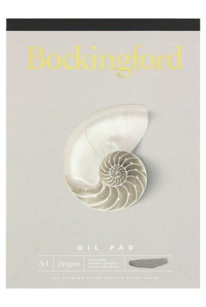 Bockingford Pad Oil A4