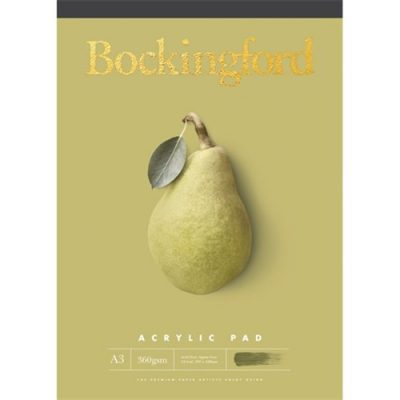 Bockingford Pad Acrylic A3 360GSM 60-Leaf