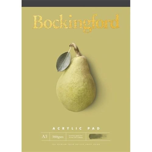 Bockingford Pad Acrylic A3 360GSM 60-Leaf