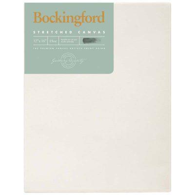 "Bockingford Stretched Canvas 12"" X 16"" X 1.5"""