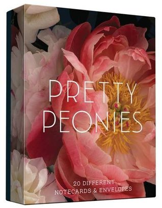 Pretty Peonies 20 Notecards and Envelopes
