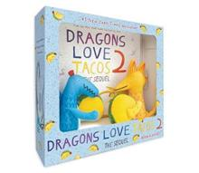 Dragons Love Tacos 2 Book & Toy Set