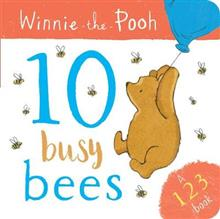 Winnie-the-Pooh: 10 Busy Bees (Board Book)