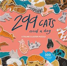 299 Cats and a Dog Jigsaw 300 Feline-Shaped Pieces