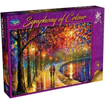 """Symphony of Colour """"Spirits By the Lake"""" 1000 Piece Jigsaw"""