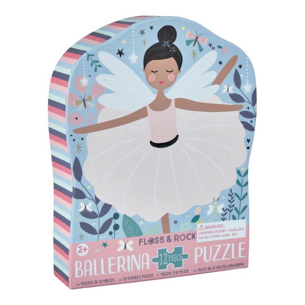 Ballerina Jigsaw Puzzle 12 Piece