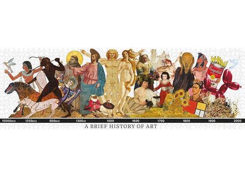 A Brief History of Art 1000 Piece Puzzle