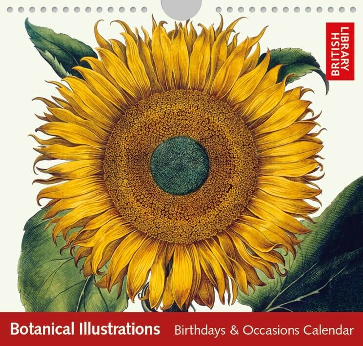 Botanical Illustrations Perpetual Calendar