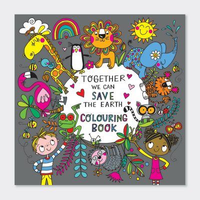 Together We Can Save the Earth Colouring Book