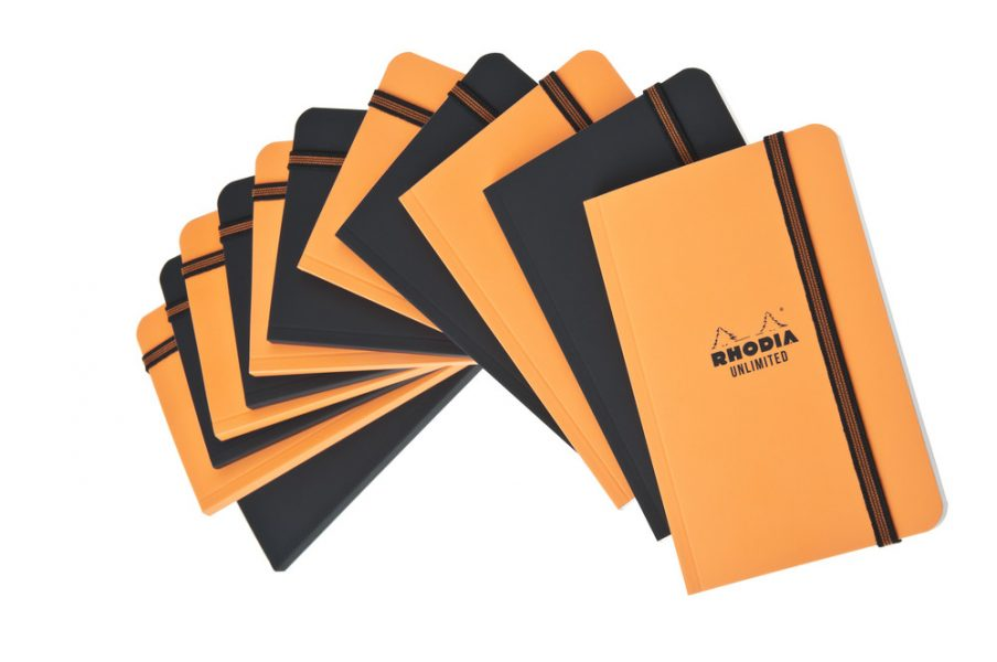 Rhodia Unlimited 9x14cm Notebook - Assorted