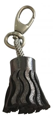 Cuirise Key Ring - Graphite